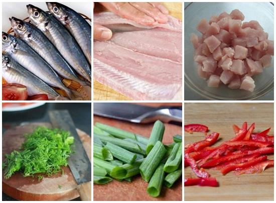 Cách làm chả cá nục hình 2