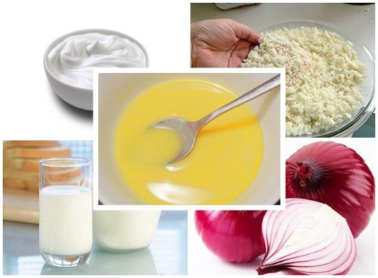 Sơ chế nguyên liệu nước sốt kem tươi mặn