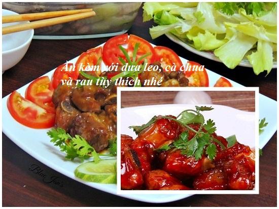 Cách làm sườn xào chua ngọt bằng tương ớt hình 4