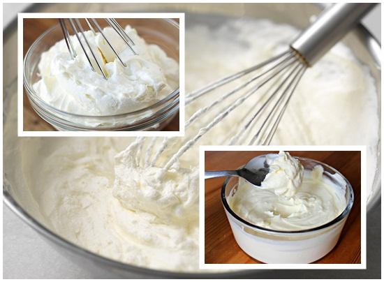 Làm xong whipping cream