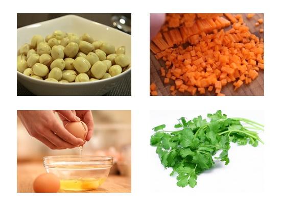 Cách nấu súp gà hạt sen hình 3