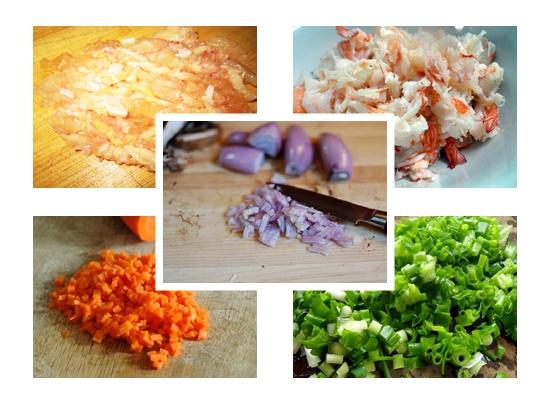 Cách nấu súp gà tôm hình 2