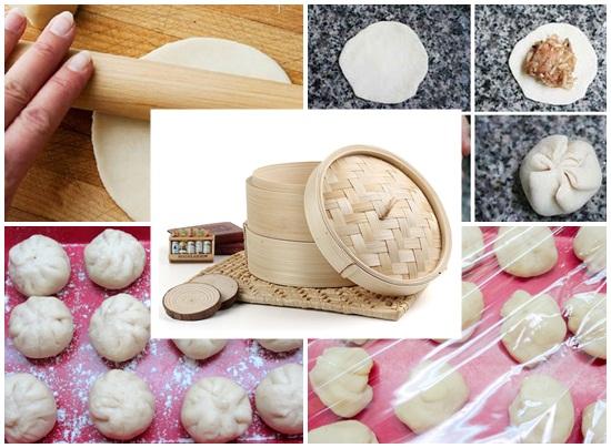 Cách ủ bột làm bánh bao hình 4
