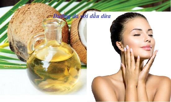 Dưỡng da với dầu dừa hình 1