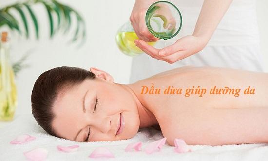 Dưỡng da với dầu dừa hình 2