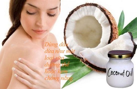 Các công dụng làm đẹp với dầu dừa hình 1