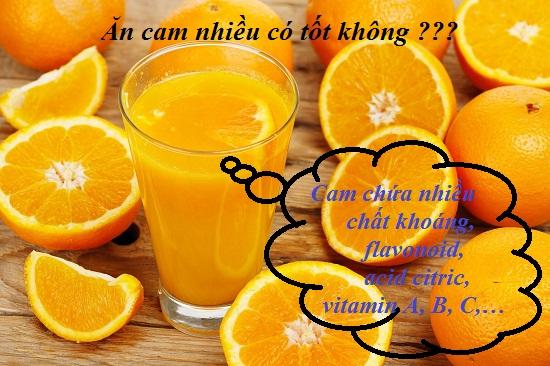 Ăn cam nhiều có tốt không? hình 1