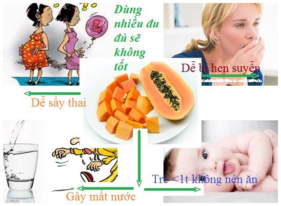 Ăn đu đủ nhiều có tốt không hình 4