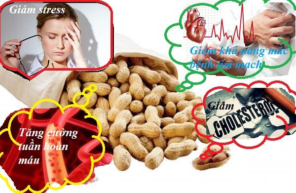 ăn nhiều đậu phộng có tốt không hình 2