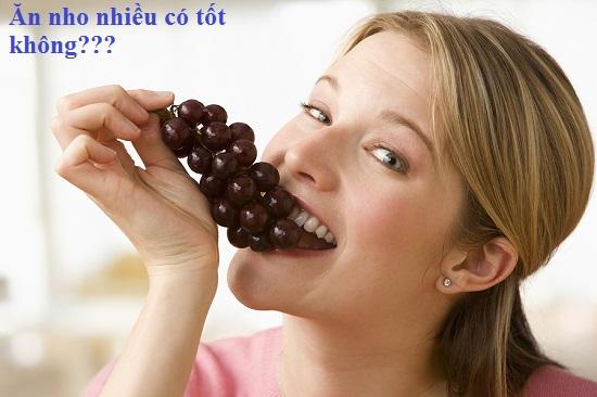 Ăn nho nhiều có tốt không hình 1