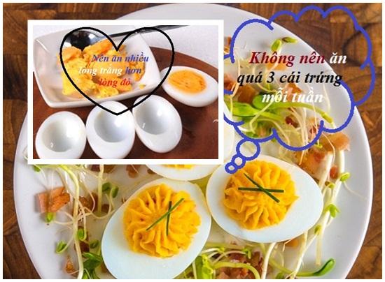 Ăn trứng gà nhiều có tốt không hình 3