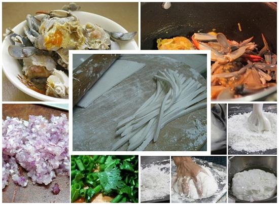 Cách nấu bánh canh ghẹ hình 2