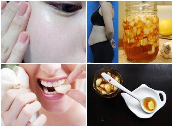 Cách làm mật ong ngâm tỏi chăm sóc sắc đẹp 5