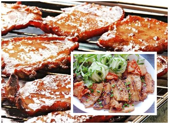 Cách ướp thịt heo nướng hình 4