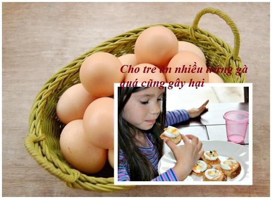 Trẻ em ăn trứng gà nhiều có tốt không hình 3