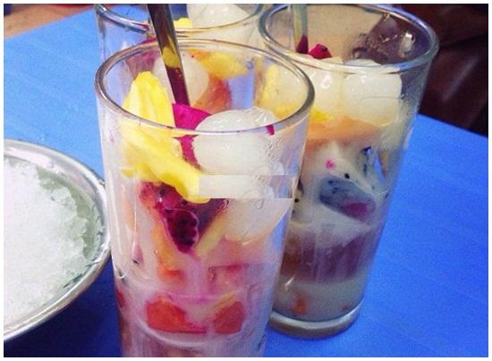 cách làm hoa quả dầm hình 1
