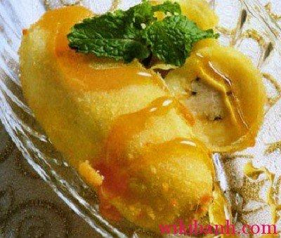 bí quyết làm bánh chuối mật ong thơm ngon