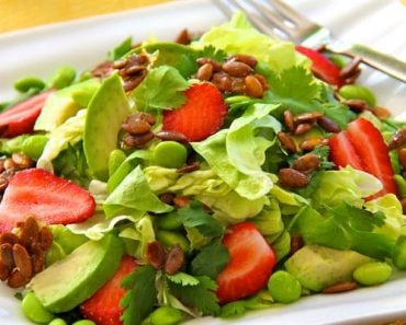 Salad rau củ quả 1