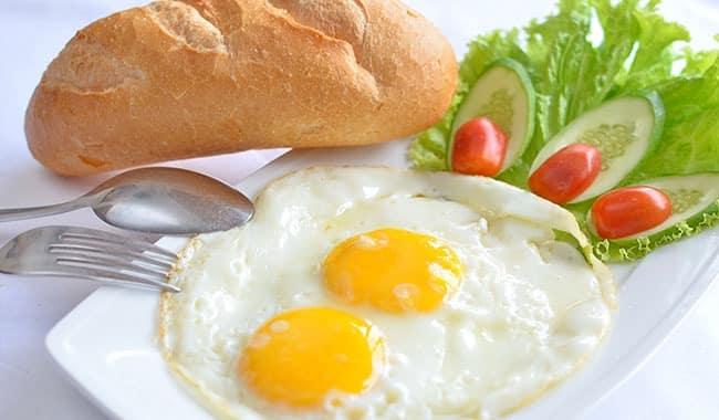 Bánh mỳ trứng 1