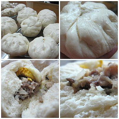 Thực hiện cách làm bánh bao nhân thịt