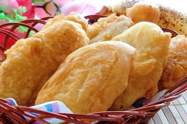 Cách làm bánh chuối chiên giòn