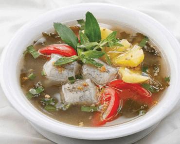 Canh chua cá khoai