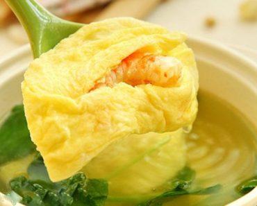 Cách làm canh cải thìa nấu tôm trứng