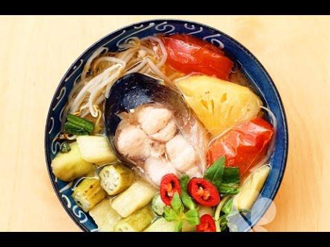 Cách nấu canh chua cá hú ngon đậm đà