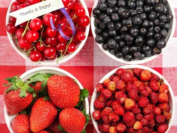 Các loại quả mọng người bị viêm tụy nên ăn