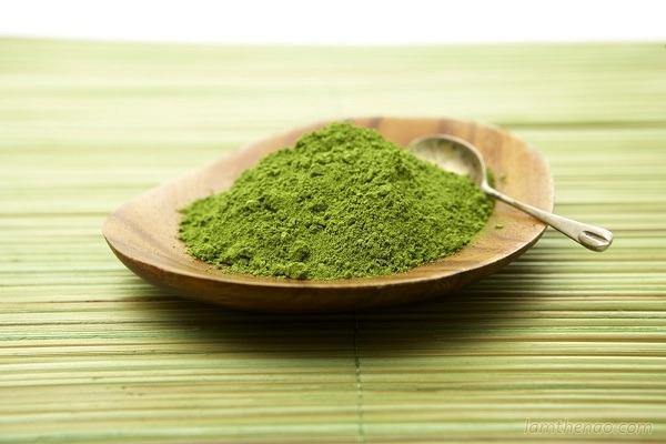 Cách làm bột trà xanh từ lá trà tươi nguyên chất tại nhà hình 2