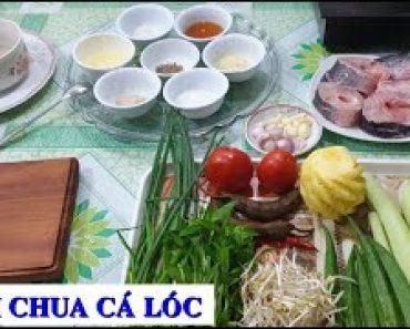 Cách làm món Canh chua cá lóc
