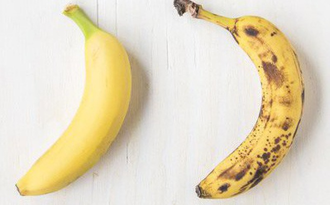 Chuối chín rục và chuối vừa chín tới, bạn nên chọn ăn quả nào: Sẽ có nhiều người chọn nhầm