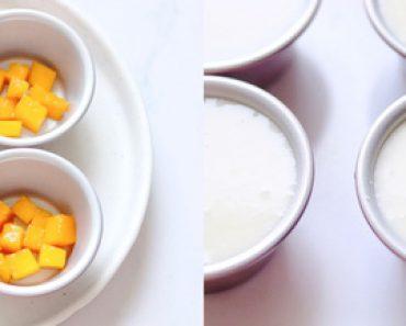 Hè này thử ngay cách làm sữa chua xoài, ăn một lại muốn hai, đảm bảo ngon khó cưỡng